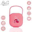 原廠正品【WHC優醫】Baby Garden可攜式微波消毒安撫奶嘴收藏盒-小粉象
