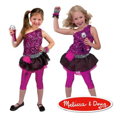 美國瑪莉莎 Melissa & Doug 角色扮演 - 搖滾巨星遊戲組