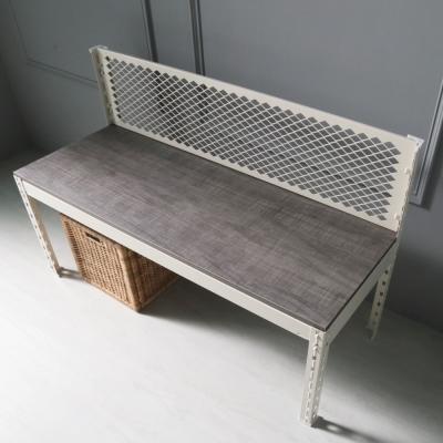 H&D 角鋼美學-工業風免鎖角鋼板凳/矮凳-2色