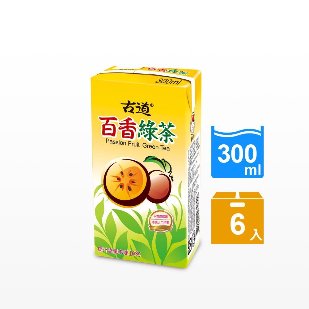 古道 百香綠茶(300mlx6瓶)