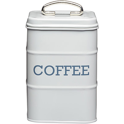 KitchenCraft 復古咖啡收納罐(灰)