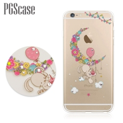 PGS APPLE iPhone6/iPhone6s 奧地利彩鑽手機殼-小兔安妮