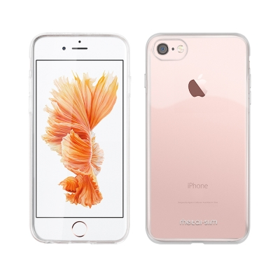 Metal-Slim APPLE iPhone 7/8 時尚超薄TPU透明軟殼