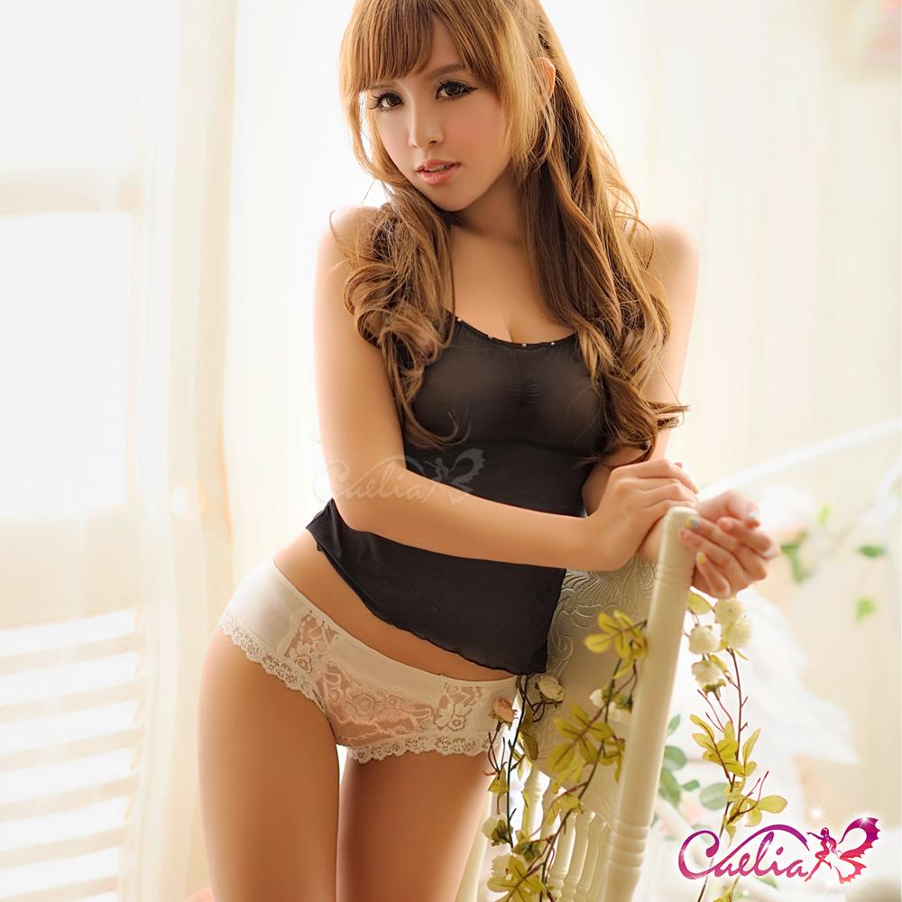 內褲 少女棉質內褲(奶白) Caelia
