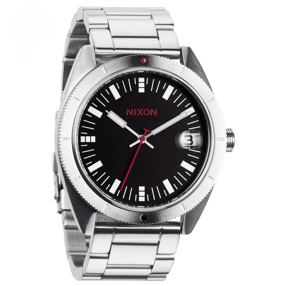 NIXON The ROVER II 風潮蔓延時尚運動腕錶-黑/42mm