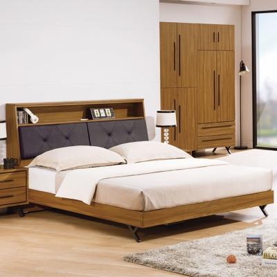 床台-雙人加大6尺-特伊-床頭箱-床底-品家居