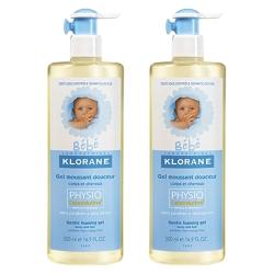 Klorane蔻蘿蘭 寶寶洗髮沐浴精 500ml 壓頭雙瓶組