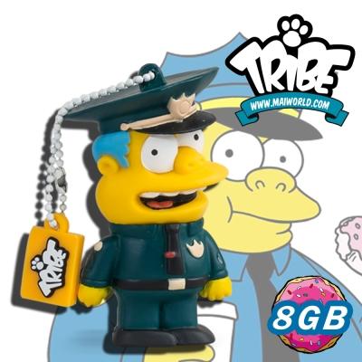 義大利TRIBE-辛普森一家 8GB 隨身碟 - 孔警官(WIGGUM)