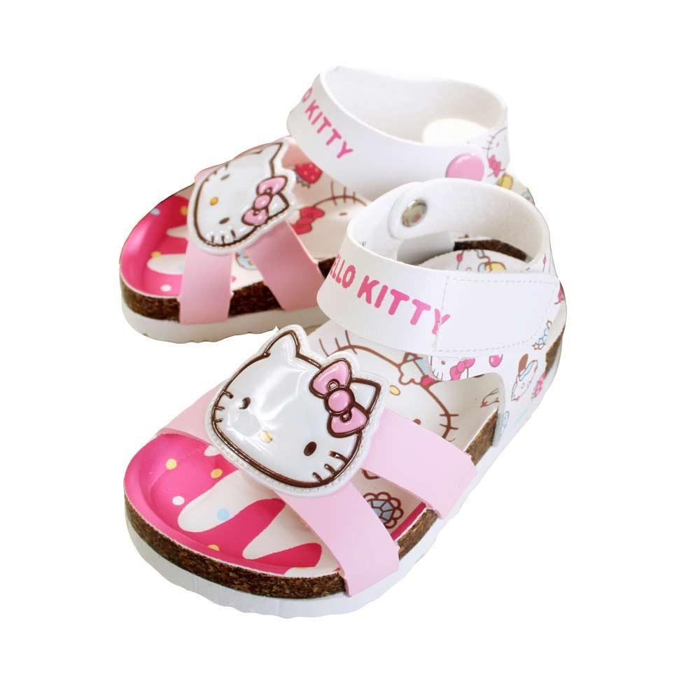 魔法Baby台灣製專櫃款Hello Kitty女童涼鞋sh6448