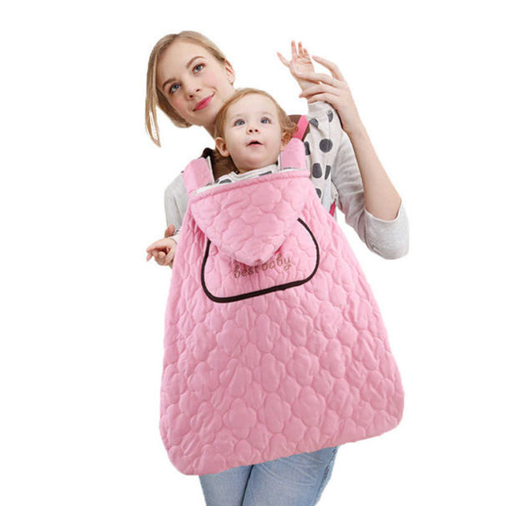 防潑水嬰兒披風蓋被-共三色