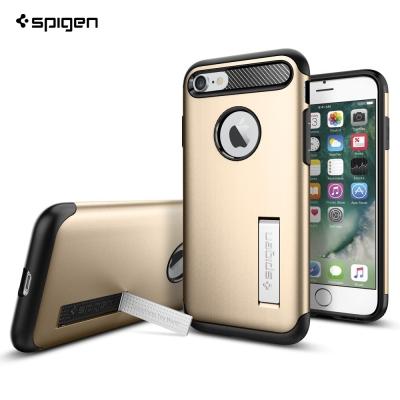 SPIGEN iPhone 7 Slim Armor 纖薄雙層防撞立式手機殼
