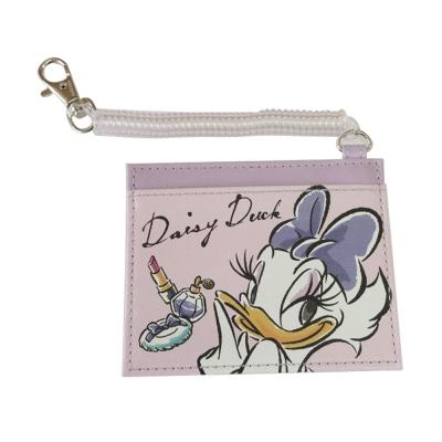SHO-BI 迪士尼公主PU皮革車票套附伸縮拉繩(黛西)