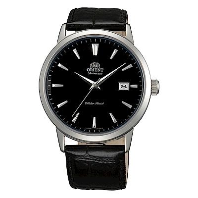 ORIENT 經典東方自動上鍊機械腕錶(FER27006B0)-黑/41mm