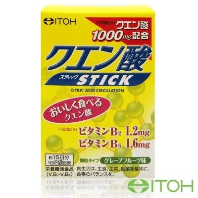 日本井藤ITOH 黃金力量元氣檸檬酸粉1盒