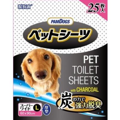 幫狗適 寵物竹炭尿布 25片入