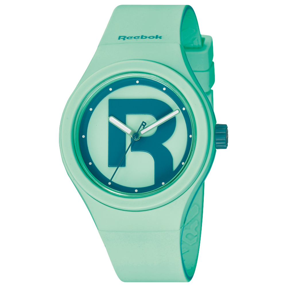 Reebok DROP RAD潮流時尚腕錶-粉綠/37mm @ Y!購物