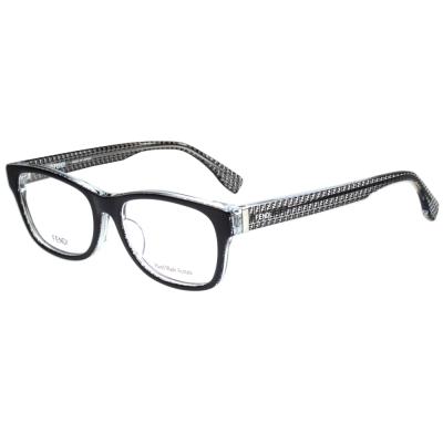 FENDI 時尚光學眼鏡 (黑色)FF1001J
