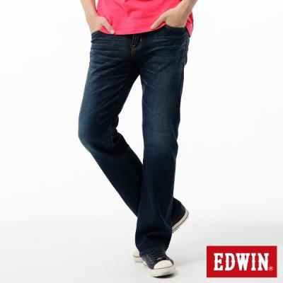 EDWIN-中直筒-503-ZERO無接縫牛仔褲-男-中古藍
