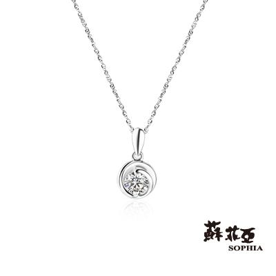 蘇菲亞SOPHIA 鑽石項鍊-熱戀0.10克拉鑽鍊