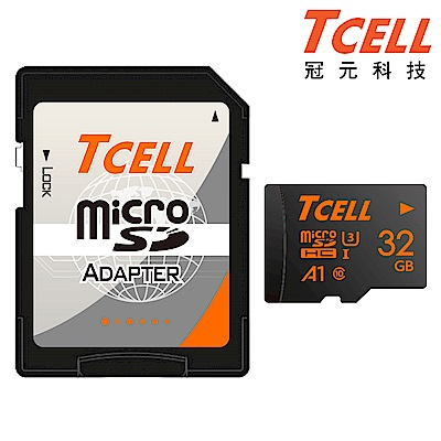 TCELL冠元 MicroSDHC UHS-I(A1) U3 32GB 100/50MB