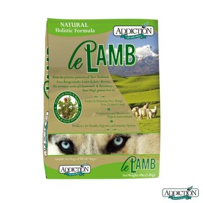 Addiction自然癮食 無穀野牧羊肉寵食 全犬 1.8公斤
