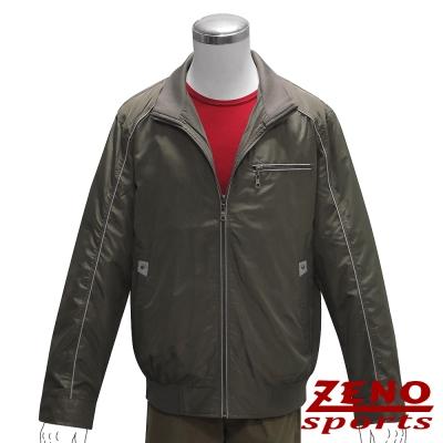 ZENO 防風立領輕薄外套‧墨綠M~XL
