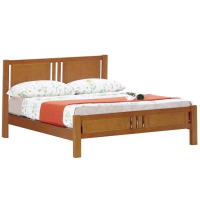 床架-雙人加大6尺-戴普柚木雙人床-不含床墊
