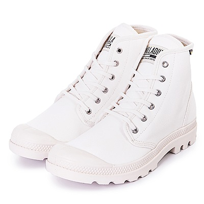 PALLADIUM PAMPA HI ORIGINALE 男女休閒鞋 75349112 白