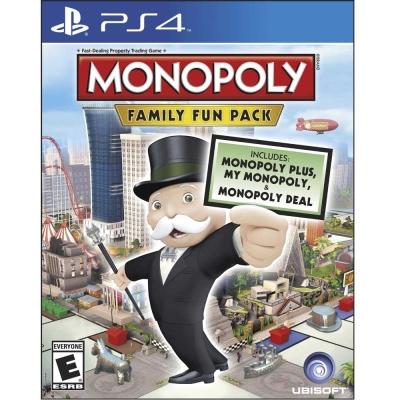 地產大亨:家庭歡樂包 Monopoly Family Fun Pack-PS4英文美版
