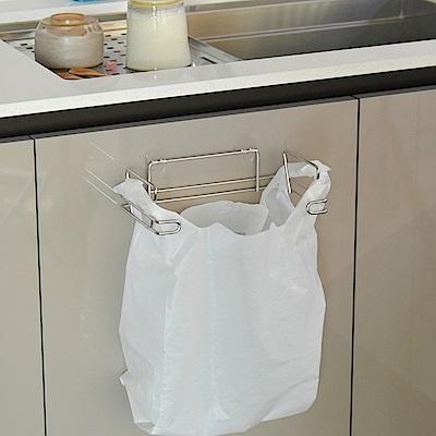 完美主義 不鏽鋼垃圾袋架/掛架/微透貼面-23.5x12.7x15.7