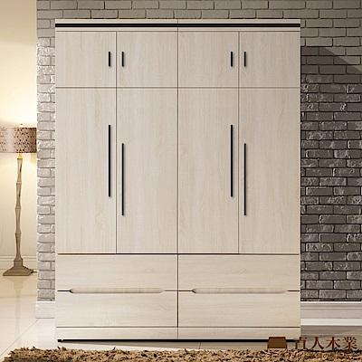日本直人木業-COCO簡約160CM被櫥高衣櫃(160x54x209cm)