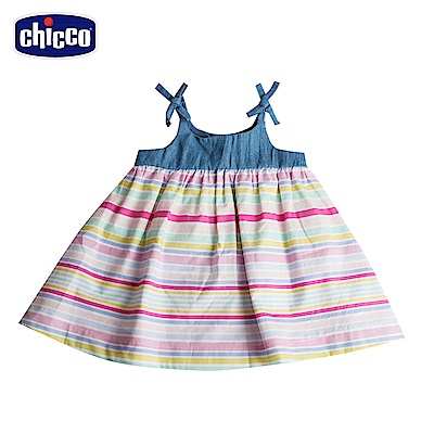 chicco-To Be Baby-肩帶彩條洋裝(12個月-4歲)