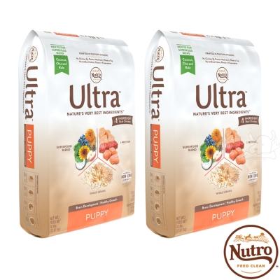 【Nutro 美士】Ultra 大地極品 幼犬呵護 配方 犬糧 4.5磅 X 2包