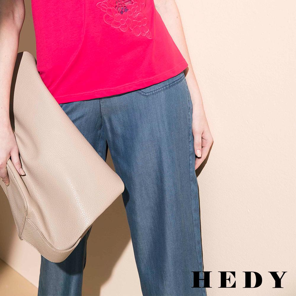 Hedy赫蒂 天絲牛仔長褲(牛仔藍)