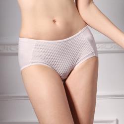 可蘭霓Clany 簡約美多菱舒適M-XL內褲 低調灰