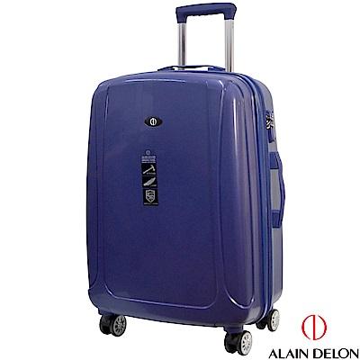 ALAIN DELON 亞蘭德倫 24吋旅者風情系列旅行箱(藍)