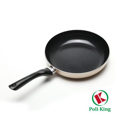保麗晶黃金陶瓷不沾平煎鍋26cm