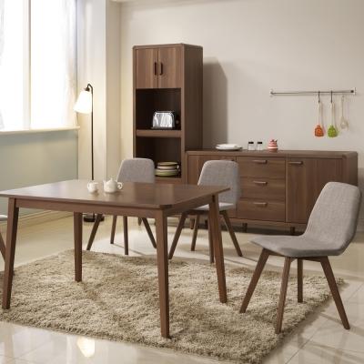 日本直人木業傢俱-TOMTE北歐生活餐桌椅(1桌4椅)