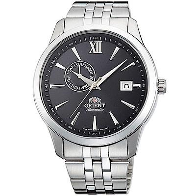 ORIENT東方錶 Classic Design系列簡約日期機械錶(FAL00002B)