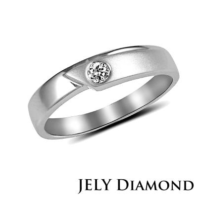 JELY 幸福頻率 真鑽情人戒指(女款)