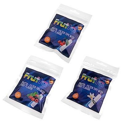 Frutta 櫻桃/莓果/香草-捲煙專用濾嘴(6mm)-3種香味可選