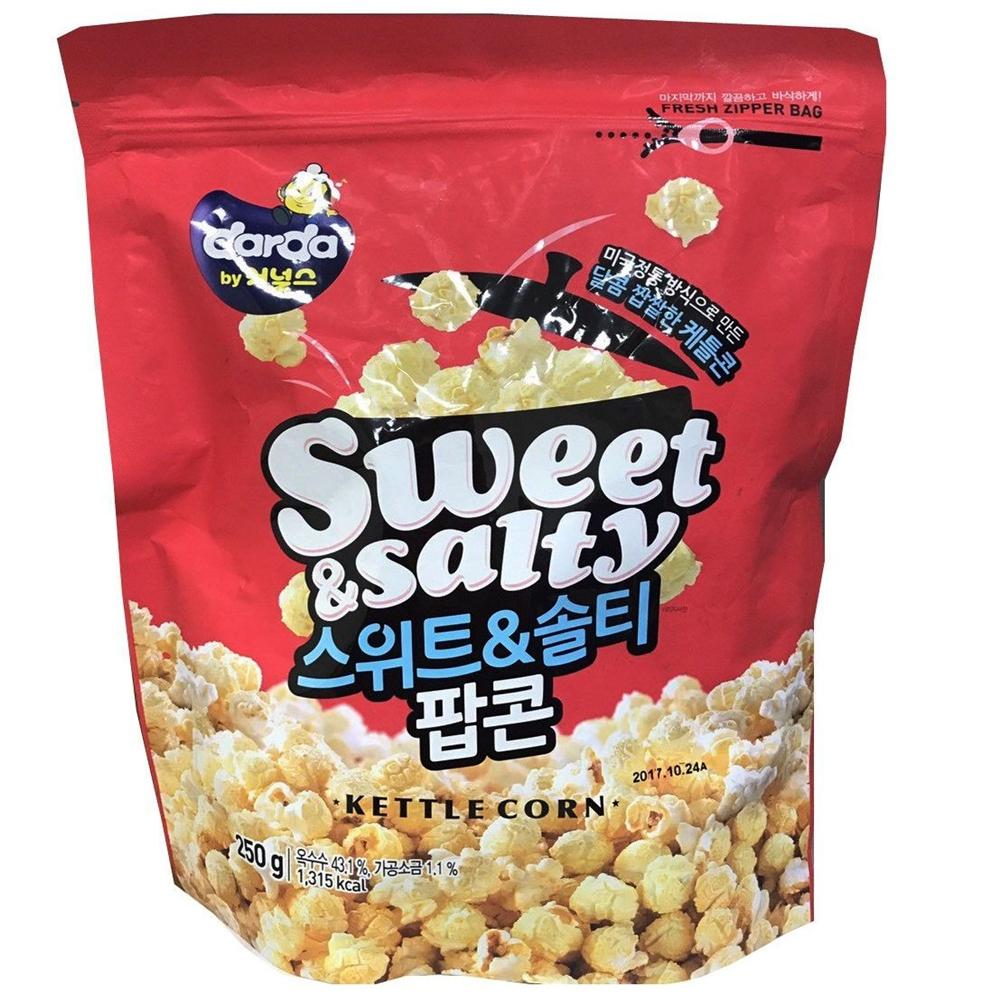 韓國DARDA 爆米花-鹹甜(250g)