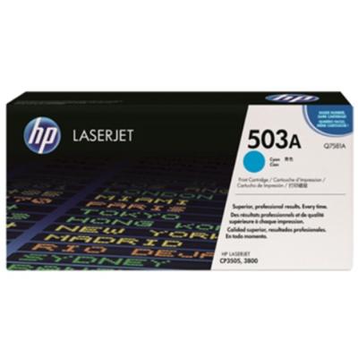HP Q7581A 503A 原廠藍色碳粉匣