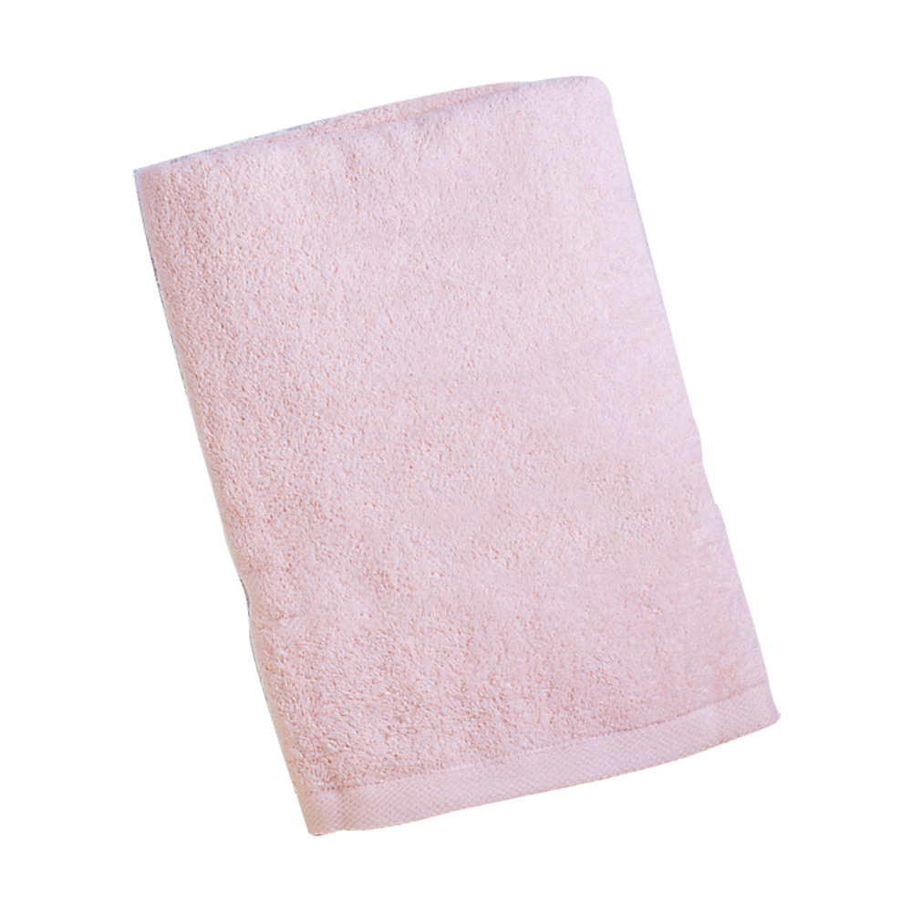 AJ Hippo小河馬 嬰兒大浴巾(粉)