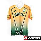 LOTTO 義大利 世足盃國家隊紀念T恤(巴西)-黃