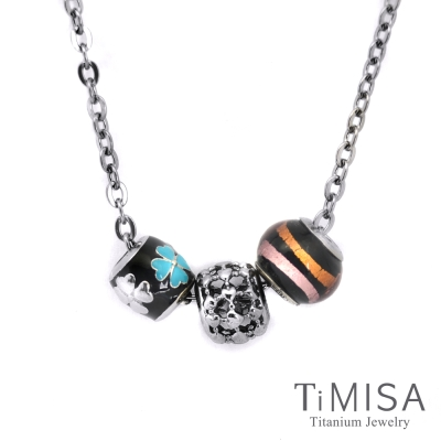 TiMISA 心相隨 純鈦串飾 項鍊