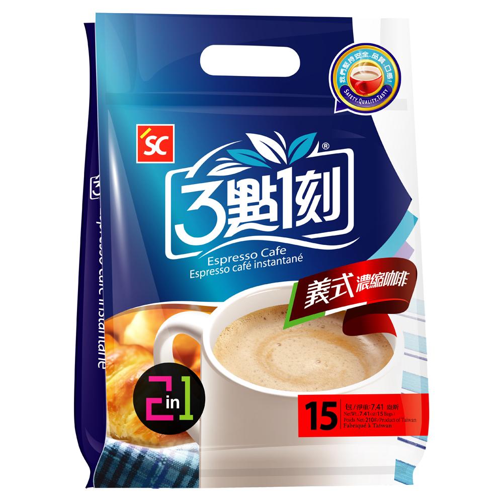 3點1刻 義式濃縮咖啡2in1(14gx15包)