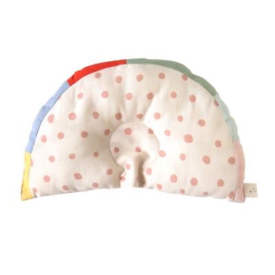 NAOMI ITO 彩虹波點凹型枕
