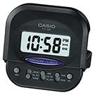 CASIO 輕巧型超小旅行用可摺疊鬧鐘(PQ-30B-1)-黑