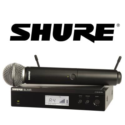 SHURE BLX24R/SM58 無線麥克風系統搭配 SM58 麥克風
